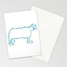 Ice Dog Stationery Cards