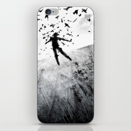 Birds in the head iPhone Skin