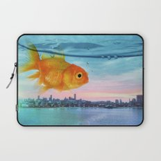 Tank with a view Laptop Sleeve
