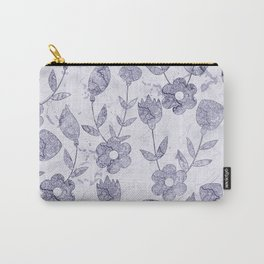 Watercolor Floral III Carry-All Pouch