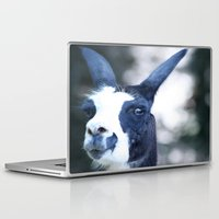 llama Laptop & iPad Skins featuring Llama by Veronica Ventress