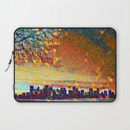 Sunrise Cityscape Laptop Sleeve