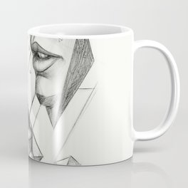 Surreal Geometry Shapes Coffee Mug