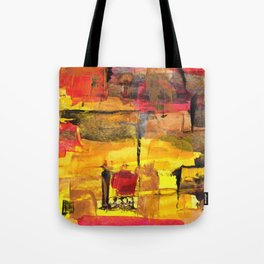 Abstract Street Tote Bag