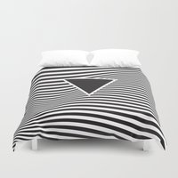 lsd Duvet Covers featuring Wave IV by fly fly away