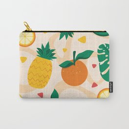 Colorful Summer Fruits Pattern Carry-All Pouch