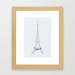 Party in Paris Framed Art Print