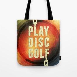 Play Disc Golf Tote Bag