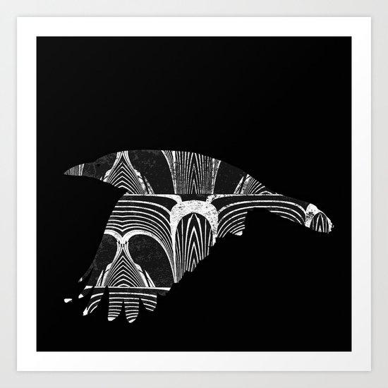 The rook Art Print