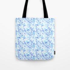 Pale Blue Spots Tote Bag