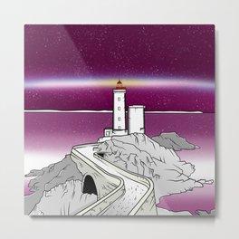 Petit Minou Lighthouse Brittany Metal Print
