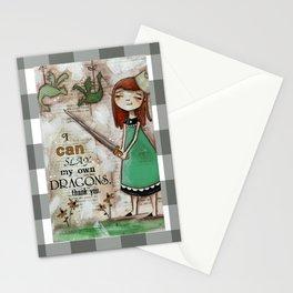 Dragonslayer - by Diane Duda Stationery Cards