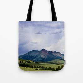 Electric Peak Yellowstone Tote Bag