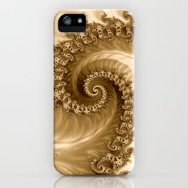 Sound of Seashell Sepia  iPhone Case