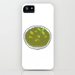 Green Curry iPhone Case