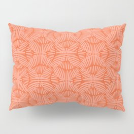 Basketweave-Persimmon Pillow Sham