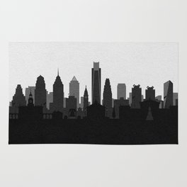 City Skylines: Philadelphia (Alternative) Rug