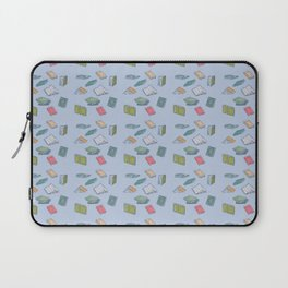 Books on Books (colorful squares) Laptop Sleeve