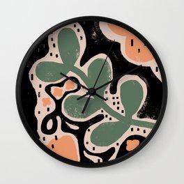 KEEP IT GREEN Wall Clock