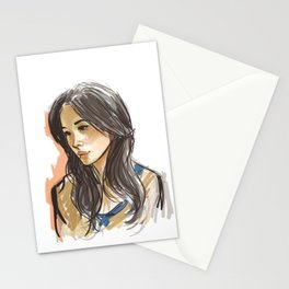 elementary: joan watson Stationery Cards
