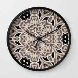 geomeric elegant soft pattern Wall Clock