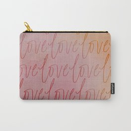 All the Blushing Love Carry-All Pouch