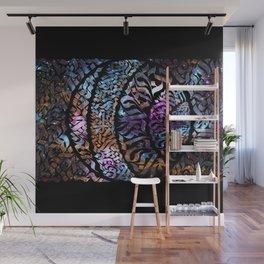 Calligram Nebula 1 Wall Mural