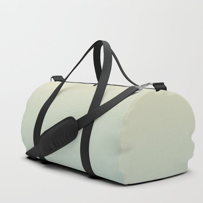 FADING AWAY - Minimal Plain Soft Mood Color Blend Prints Duffle Bag