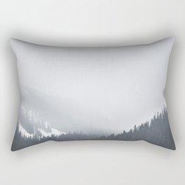 Canadian Rockies Rectangular Pillow