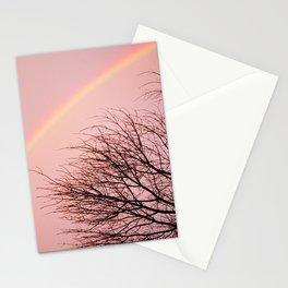 Winter Rainbow Stationery Cards