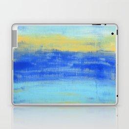Relaxing Beach Aqua Turquiose Nautical Abstract Art Laptop & iPad Skin