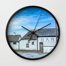The Irish Bar Wall Clock