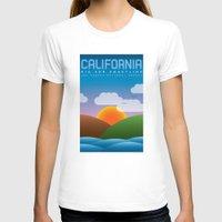 big sur T-shirts featuring Big Sur, California by dzynwrld