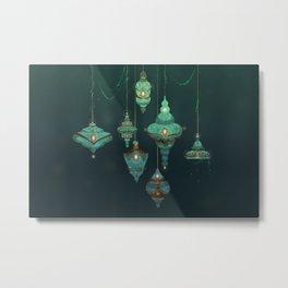 Lamps Metal Print