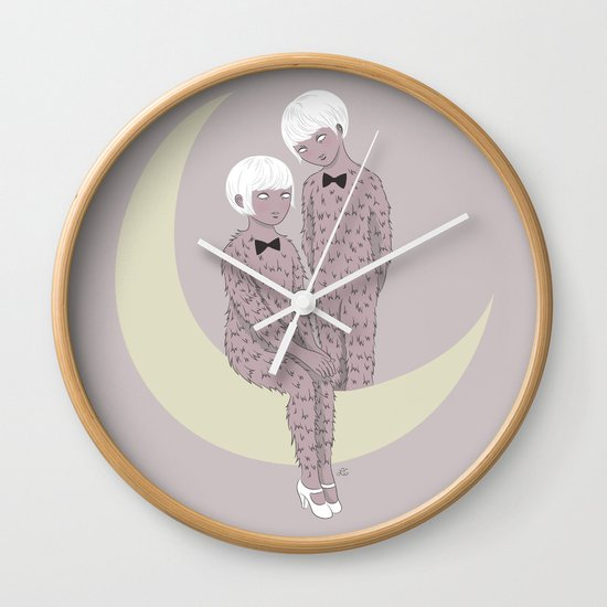 Hirsute Wall Clock