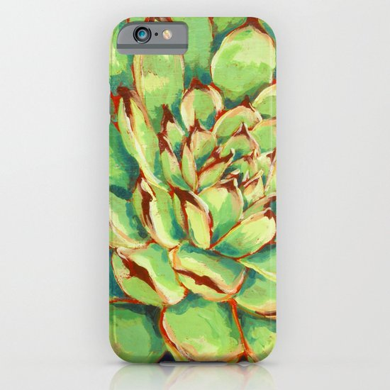 Hens and Chicks iPhone & iPod Case