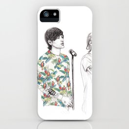 1d on stage iPhone Case