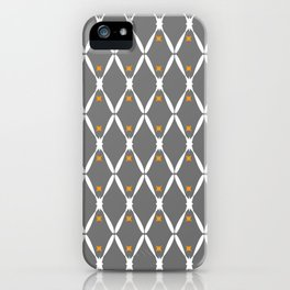 Gray Pattern No. 2 iPhone Case