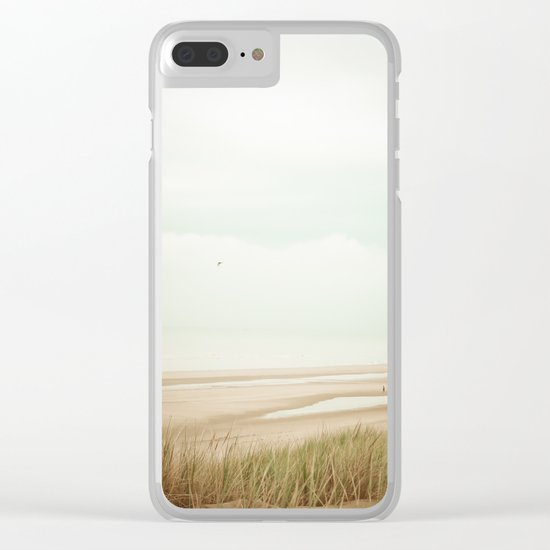 Beach Sea Sky Clear iPhone Case