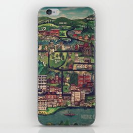 Lake Placid | Streets & Lakes iPhone Skin