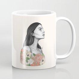 Blushing Blossoms Coffee Mug