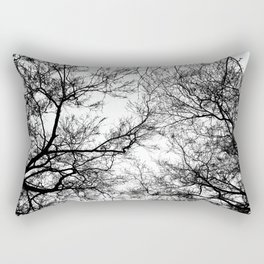 Tree Silhouette Series 7 Rectangular Pillow