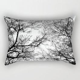 Tree Silhouette Series 7 Rectangular Pillow