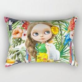 TROPICAL SUMMER ERREGIRODOLLS LANA Rectangular Pillow