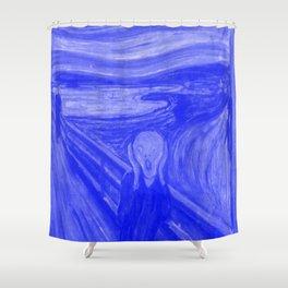 The Scream - Edvard Munch - Japanese Porcelain Concept Shower Curtain