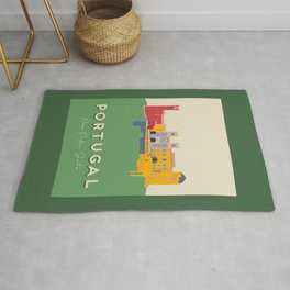 Portugal, Pena Palace, Sintra Travel Poster Rug
