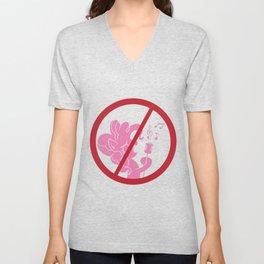 No Singing Pinkie Pie Unisex V-Neck
