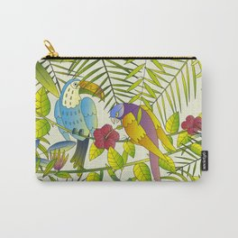 Tropical Paradise Pattern 1 Carry-All Pouch