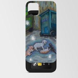 Back alley shenanigans iPhone Card Case