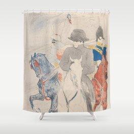 Henri de Toulouse-Lautrec Napoleon Shower Curtain